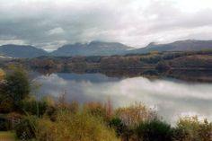 Lock Awe in Scotland-