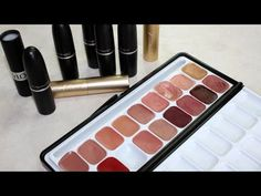 How to Make a Lipstick Palette (Great for Travel!)