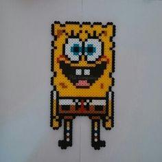 SpongeBob hama beads by piligonzalez.hamabeads