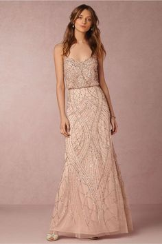 7 Best Rose gold gown images  3e3834f35