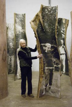 Emilie Benes Brzezinski - Grounds For Sculpture Photography Exhibition, Art Photography, Instalation Art, Tree Sculpture, Sculpture Ideas, Collage Sculpture, Photo Sculpture, Foto Transfer, A Level Art