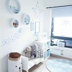 Wanddeko babyzimmer junge Source by wohnklamotte deco chambre cocooning