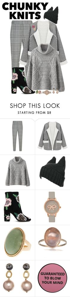 """knitted with care"" by fantasia-fashion ❤ liked on Polyvore featuring Alexander Wang, Chicnova Fashion, Rebecca Minkoff, Olivia Burton, Marni, Georgia Perry, contest and knitwear"