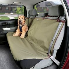 Waterproof Pet Bench Seat Cover in Classic Green
