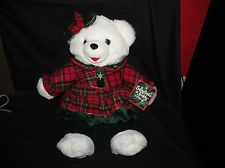 Snowflake Teddy,1999,Holiday Outfit,Plush Bear,22 Inch,Dan Dee,New,With Tags