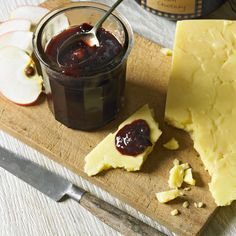 Cranberry, fig and date chutney. This fruity chutney is perfect for Boxing Day cold cuts of meat and cheese