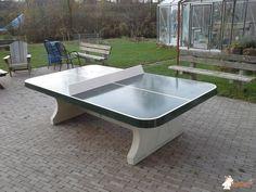 Pingpongtafel Afgerond Groen bij Futura College in Woerden