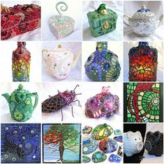 My Mosaics in 2011 | por Waschbear - Frances Green