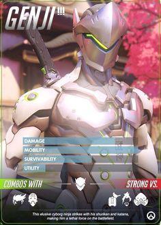 Overwatch - Genji Hero Profile