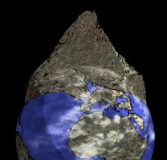 mountain filled the whole earth - Google Search Earth Google, Whole Earth, Earth Surface, Stage, Amethyst, Mountain, Google Search, Crystals, Bible Studies
