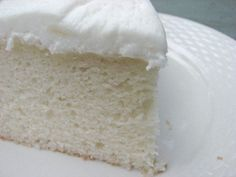 I suppose when all is said and done this is not truly a white cake - white cakes should be snowy white, and this is commonly achieved simply by ommitting the egg yolks, and volume is typically acheived through folding beaten egg-whites into your...