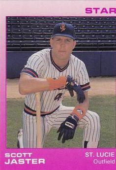 1988 Star St. Lucie Mets #13 Scott Jaster Front