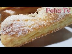 Cookie-uri творожное, super fulgii!!! Astfel nu ați încercat - YouTube Farmers Cheese, Puff Pastry Dough, Russian Recipes, Eclairs, Vanilla Cake, Deserts, Food And Drink, Cooking Recipes, Sweets