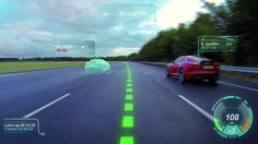 Looking to add a touch of Gran Turismo or Forza to your daily commute? Jaguar Land Rover is developing a Virtual Windscreen concept that aims to do just that with a slew of driver assistance technologies designed to keep your eyes on the road. Jaguar Land Rover, Car Ui, Dashboard Car, Used Car Prices, New Jaguar, Stars News, Software House, Head Up Display, Smart Car