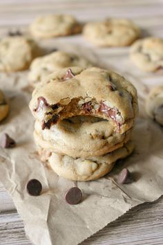 Soft and chewy Chocolate Chip Cookies (With bread flour)