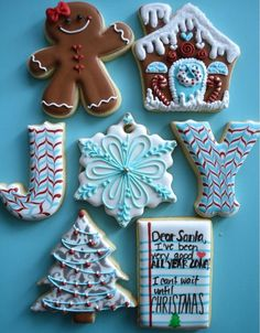Christmas cookie set by Erica Wilson
