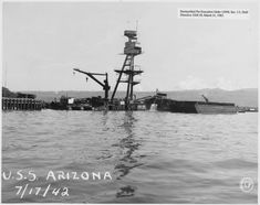 The infamous Pennsylvania-class battleship, the USS Arizona, was built by the United States for the US Navy in the The battleship class was Pearl Harbor 1941, Pearl Harbor Attack, Naval History, Military History, Military Art, Us Navy, Remember Pearl Harbor, Uss Arizona Memorial, History Online