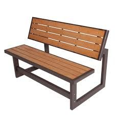 Image result for metal and wood bench