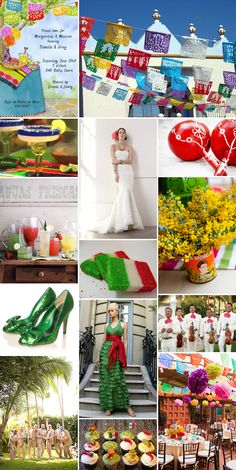 Mexican wedding  or CINCO DE MAYO...inspiration I've always wanted a Mexican themed bridal shower