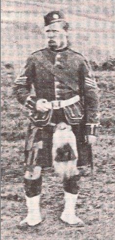 42nd Royal Highlanders (Black Watch)  Dartmoor 1871