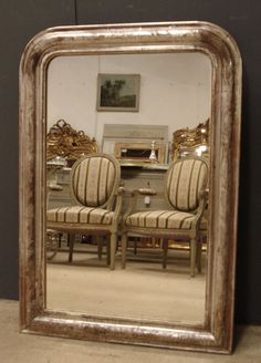 Antique French Louis Philippe mirror from www.jasperjacks.com