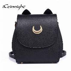 1451b18e14f7   27% OFF   Iceinnight Dual Purpose School Bags Backpacks For Teenage Girls  Long Belt. Sailor MoonEstilo PreppyTote HandbagsCrossbody BagsDesigner ...