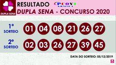 Dupla Sena 2020 - Resultado da Dupla Sena de Hoje Concurso 05/12/2019 Resultado Mega Sena, Lottery Tips, Inventions, Periodic Table, 230, Pasta, Exercises For Seniors, Winning The Lottery, Prize Draw