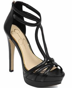 Jessica Simpson Salvati T-Strap Platform Sandals - Jessica Simpson - Shoes - Macy's