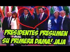 Presidentes del G20 Presumen a SUS PRIMERAS DAMAS Y LA MEXICO FUE LA PEO...