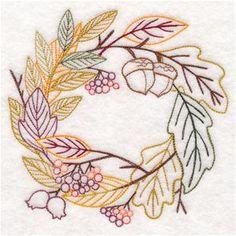 Autumn Harvest Potpourri Wreath (Vintage)-9/26/17