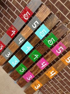 READY TO SHIP!! Growth Chart / Height Chart / Rustic Growth Chart / Awesome Baby Shower Gift