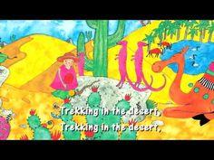 "Walking Through the Jungle - Barefoot Books - A great collection of ""sing-alongs"" for kids. Brain Break Videos, Desert Animals, Wild Animals, Barefoot Books, Rainforest Theme, Animal Habitats, School Videos, Kids Songs, Kids Music"