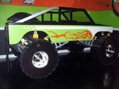 cool monster truck beds