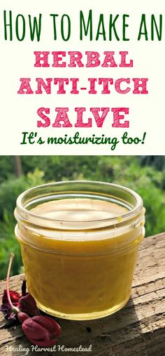 Do bug bites have you scratching? Or maybe you suffer from dry, itchy skin? This herbal anti-itch salve is so easy to make. It's soothing, anti-inflammatory, and smells wonderful. Click through to find out how to make a natural herbal anti-itch salve you'll love!