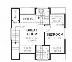garage apartment floorplan upstairs