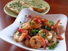przepis na krewetki Pesto, Shrimp, Chili, Mad, Diet, Chile, Chilis