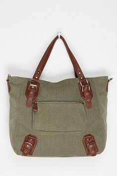 Urban Outfitters- East West Tote, $59 (also available in dark grey, beige, and coral)