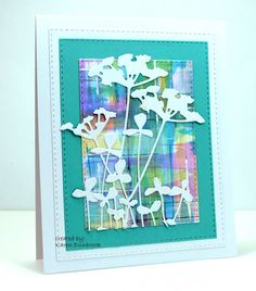 Good Morning.Today, I am hosting the Technique Lovers Challenge atSplitcoast Stampers.I am calling this Challenge 'Swipe Your Credit Card'. After making this card last week using the Distress Oxide i