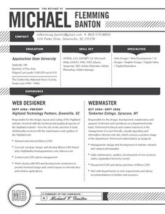 Loft resumes - Offers standout resume designs as well as resume writing services