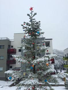 Christmas tree inside Citadela Residence Cluj http://www.citadela-cluj.ro/