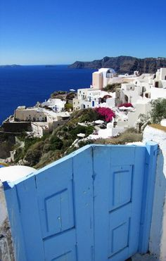 The Blue Gate, Santorini, Greece