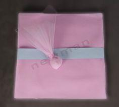 Ροζ 39x39cm ελληνικό τούλι