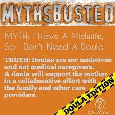 Midwife vs. Doula: One does not replace the other, read on to learn more about the role of a doula