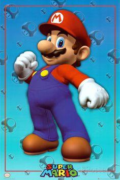 Super Mario Posters at AllPosters.com