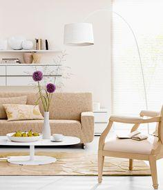 12 schöne weiße Wohnzimmer Möbel Ideen | Flats and Modern