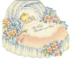 For Baby, Mother & Dad card by Tommer G, via Flickr