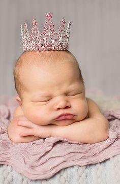 Enchanted Shimmer 'Savannah' Crown (Baby Girls)