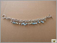 bracelet breloques en pâte polymère polymer clay http://ellefimote.canalblog.com/