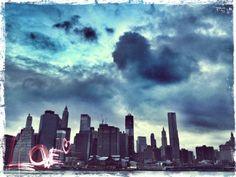 Increíble foto de Brooklyn desde Manhattan por @fotografox - Gracias!