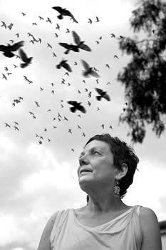 Graciela Iturbide, retrato de Ernesto Peñaloza